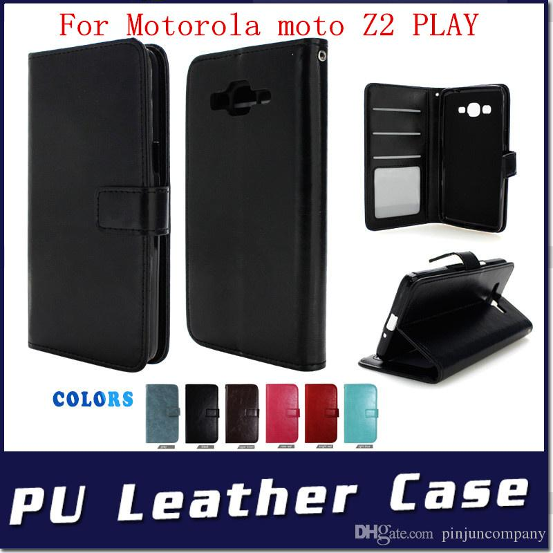 Leather Wallet cover For one plus 5 For oneplus 5 Motorola MOTO C PLUS Z2 PLAY Case flip credit card photo album slots