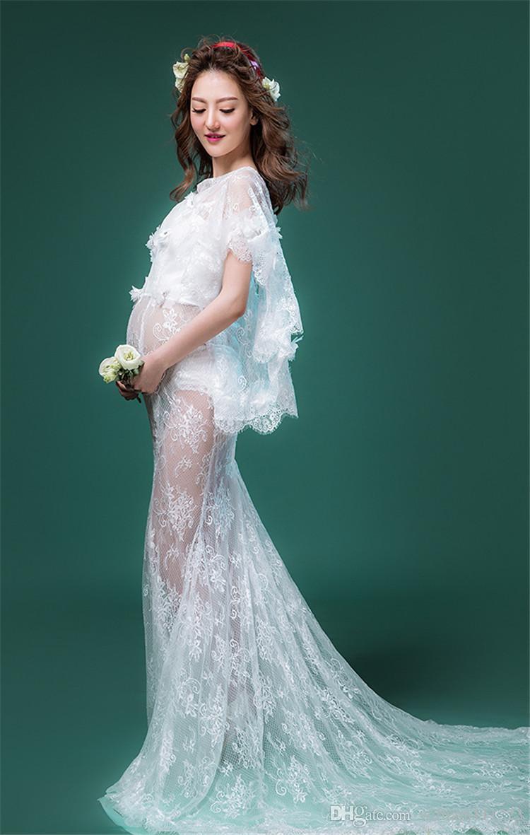 Magnificent Elegant Maternity Wedding Dresses Component - Wedding ...