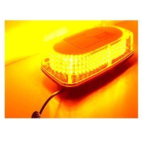 240 LED Light Bar Roof Top Emergency Beacon Warning Flash Strobe Yellow Amber