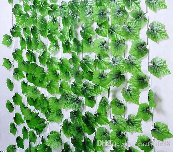 2.3m30ブドウのスライスシミュレーションのぶどう植物、シミュレーション植物、ぶどう苗、黄色のシミュレーションのシミュレーション48pcs