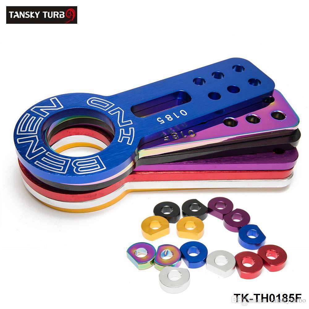 Tansky - Benen-0185 Billet aluminium geanodiseerde universele voorwandhaak (rood, blauw, zwart, zilver, gouden, paars, neochroom) TK-TH0185F