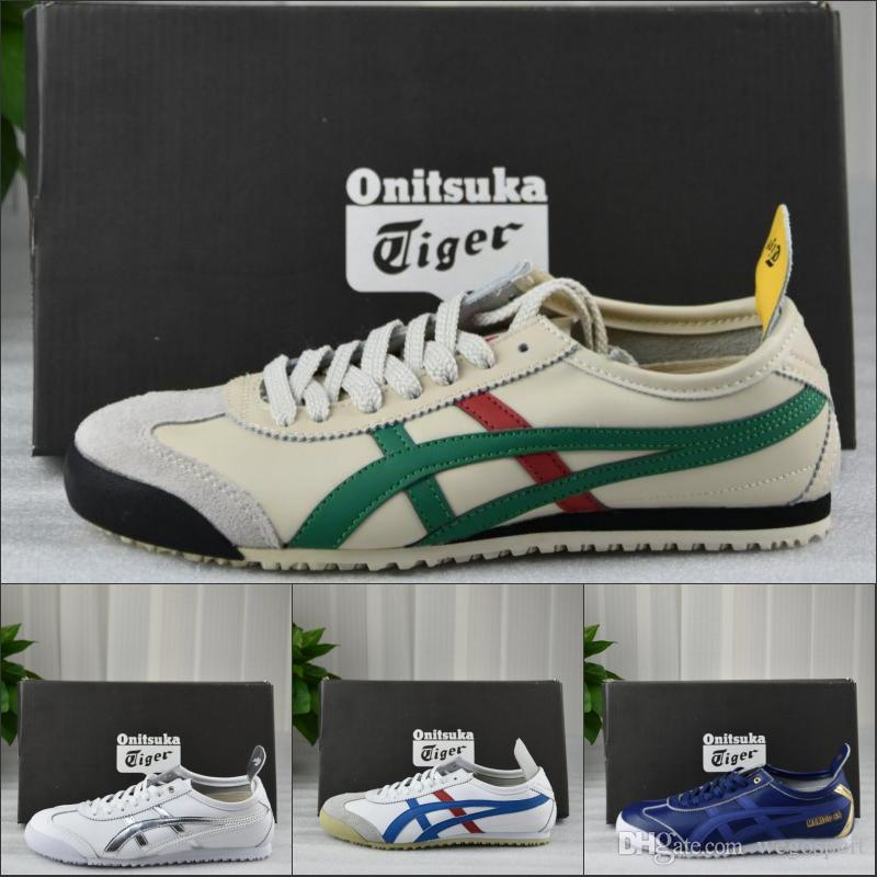 best sneakers 6d5ae b9673 2019 Asics Onitsuka Tiger Men Women Running Shoes Original Athletic Outdoor  Boots Sport Sneakers Designer Shoes Eur 36-45