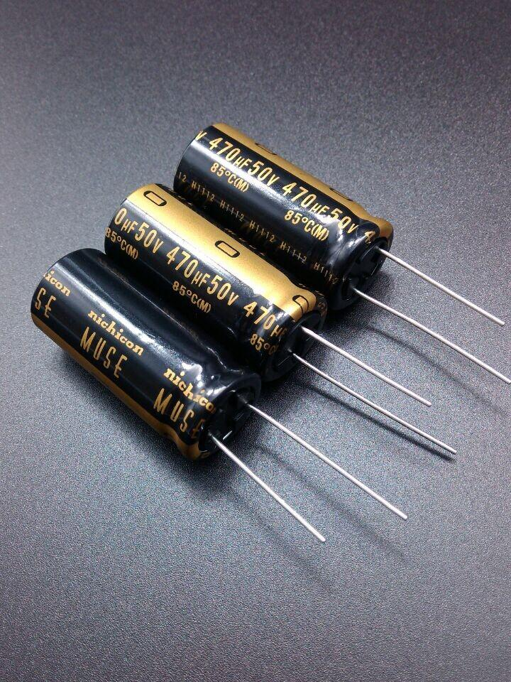 Nichicon MUSE UKZ KZ 470uF 25V Audio Electrolytic Capacitors Lots of 1 to 20