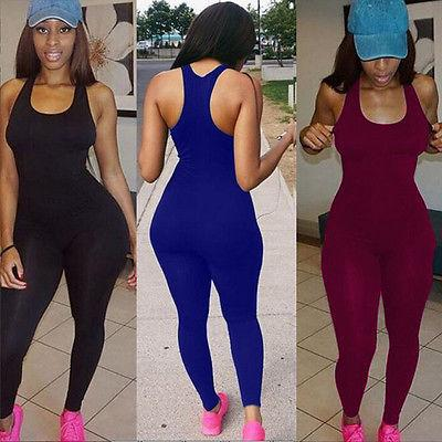 Großhandels-Bodycon Body ist Fitness Playsuit Mesh Sexy Frauen Overall Tank Strampler Catsuit Macacao Damen Overall Combinaison Femme