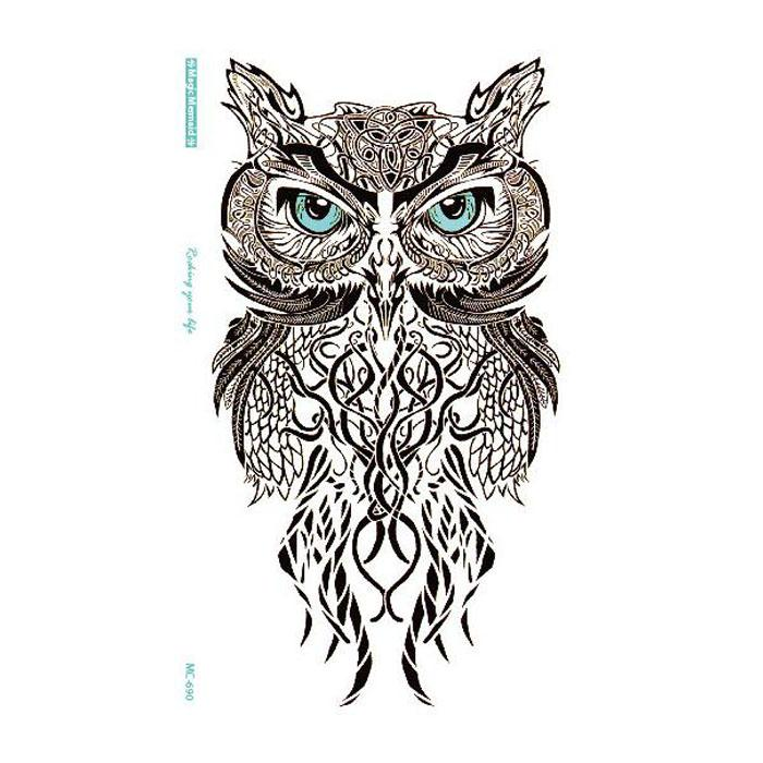 Simple Blue Eye Owl Temporary Tattoo Stickers Temporary Body Art For Boys Girls Hot Sale Free Ship Henna Temporary Tattoo Jagua Tattoos From Everyonemore 0 57 Dhgate Com