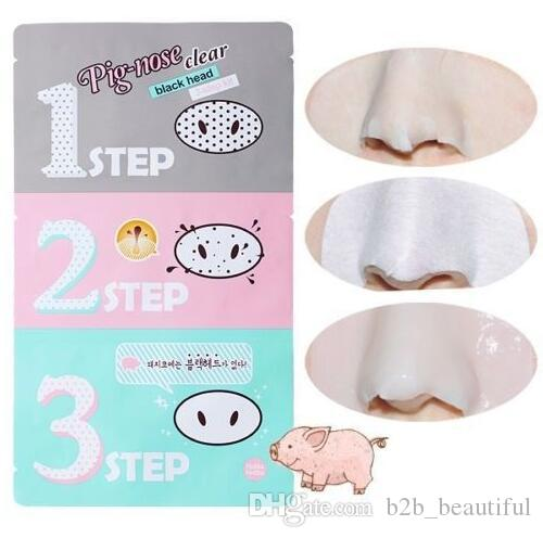 Holika Pig Nose Clear Black Head Perfect Sticker 3 steps Clear Black Head Mask Blackhead Remover OOA2146