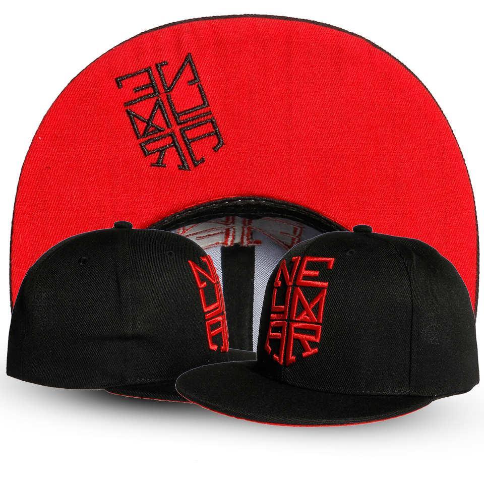 2017 new Hot Sale Neymar Letter Baseball Cap unisex Men And Women Summer Snapback Caps Sun Hip-hop casquette Hats