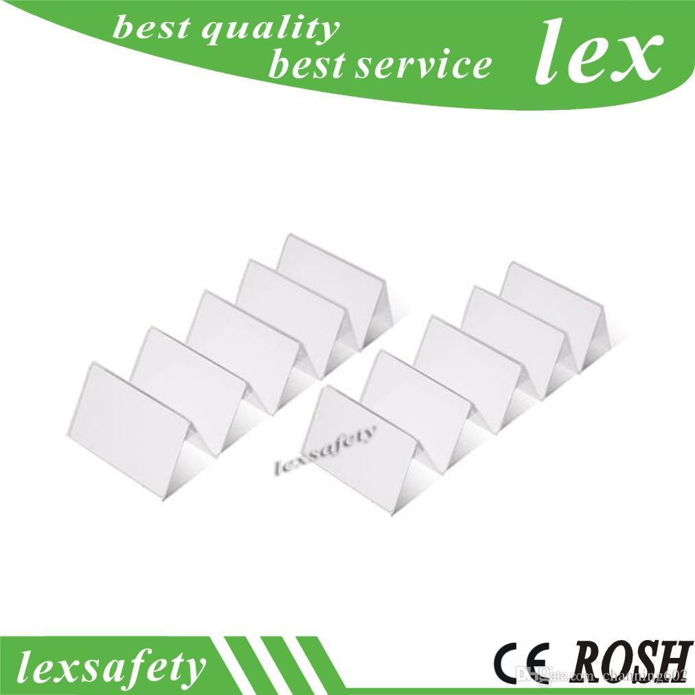 Livraison Gratuite Prix Usine Imprimé 100 pcs / lot F08 13.56MHZ 1K blanc PVC Smart Card Mf1 blanc RFID cartes en plastique avec ISO14443A