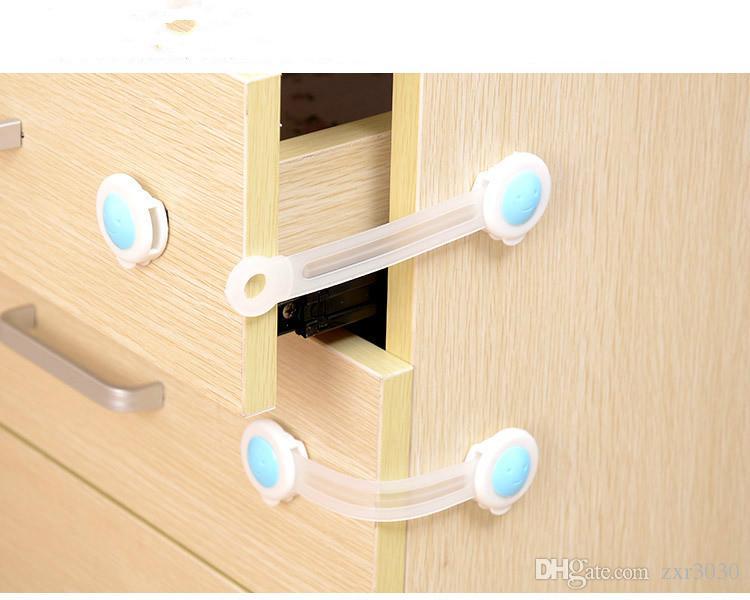 Criança Crianças Baby Care Segurança Gabinete de Segurança Locks Correias produtos em gaveta do armário Roupeiro Portas Frigorífico WC