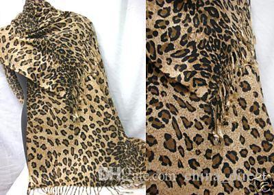 Drukuj Szaliki Zebra Leopard Drukuj Szalik Ponchos Okładki Szal 10 sztuk / partia # 1760