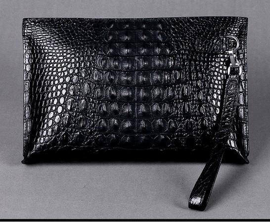 72f4ef1b9a Men Clutch Bags Genuine Crocodile Leather Soft Sturdy Men Small Business  Clutch Bags 29cm Wide Super Large Volume Satchel Handbags Fashion Bags From  Cl008, ...