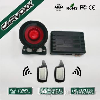 PKE Two-Way CAR Alarm with Remote Engine Starter and Keyless Entry X6-C