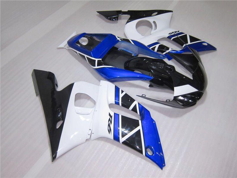 Carénage pour YAMAHA R6 YZF-R6 98 99 00 00 02 02 YZF-R6 YZFR6 1998 1999 2000 2001 2002 Bleu Noir ZM40