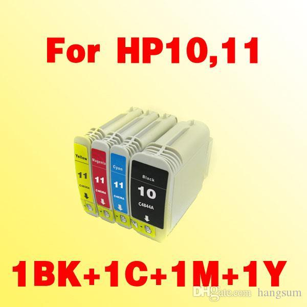 Para HP10 HP11 C4844A C4836A C4837A C4838A cartucho de tinta compatível para HP 10 HP2000c 2000cn 2000cse 2000cxi 2500c