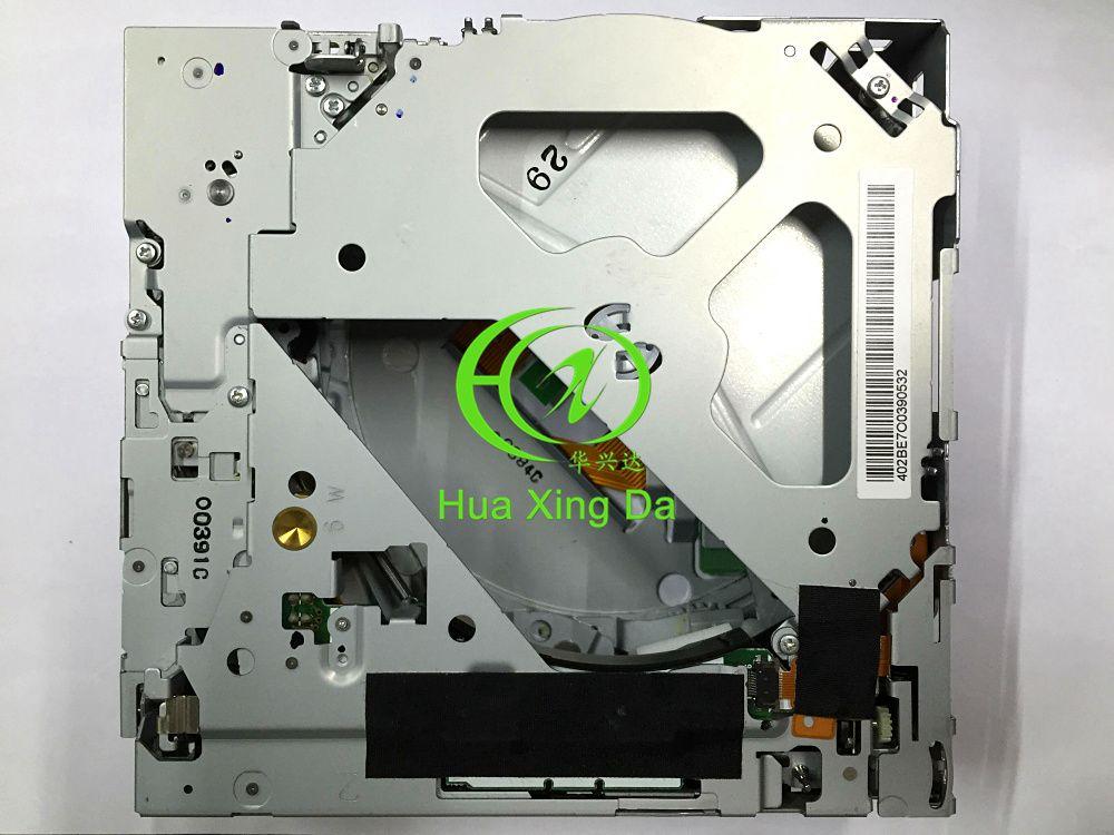 Nuevo Matsushita 6 cambiador de CD 19Pin conector mecanismo E-9060A sin PCB para A6 A4 A8 MMI 4E0 035 111 SAAB MAZDA CD del coche