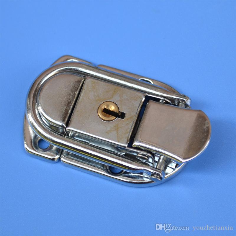 metallo hasp scatola fibbia ferro fibbia airbox sacchetto di blocco hardware parte di file di legno scatola di fissaggio di blocco strumento caso scatola di aria parte hardware