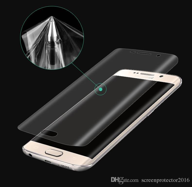 Для Galaxy S20 Ultra S20+ S9 S8 Note 8 9 10 Pro полное покрытие изогнутая мягкая TPU противоударная передняя защитная пленка для Samsung S7 Edge S8+