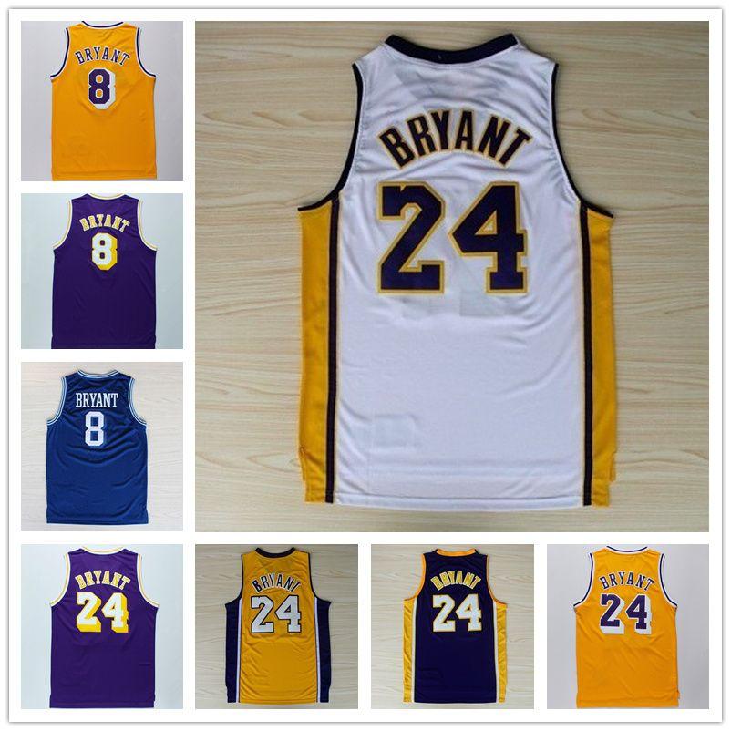 Wholesale Best Quality Best Use 2017 24 Kobe Bryant Jersey 8 ...