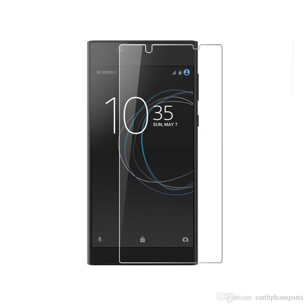 X2 Pack Protector de pantalla de vidrio templado genuino para Sony Xperia Z3 L55T