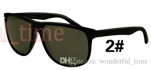 10PCS 여름 남성 블랙 프레임 안경 패션 선글라스 여성 복고풍 사이클링 스포츠 야외 타고 태양 안경 6 색 A + + 무료 배송