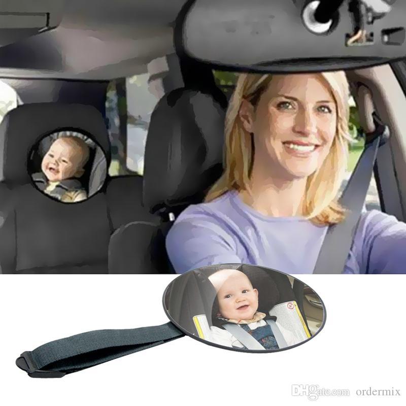 Автомобиль Заднее Сиденье Зеркало Ребенок Перед Задняя Уорд Вида Подголовник Креплением Зеркала Квадрат Безопасности Ребенка Дети Монито