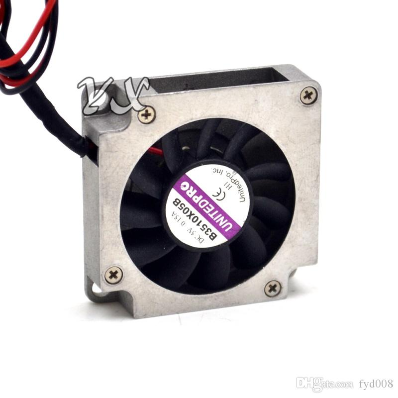 Envío gratis de alta calidad Nuevo Original UNITEDPRO 3510 3.5 cm B3510X05B 5V 0.15A ventilador de la turbina 2 cables ~