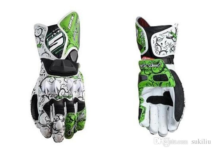 Five Gloves RFX1 Race Motorcycle Gloves Leather Black Mens All Sizes