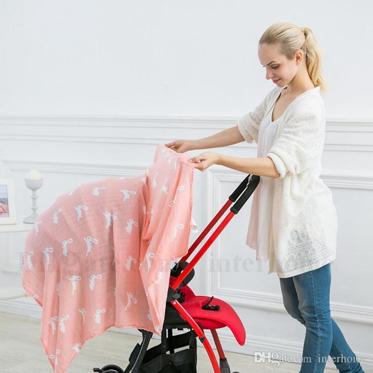الطفل الشاش البطانيات عدن أنيس قماط الوليد الخيزران التفاف الرضع باريسك النوم أكياس الفراش فوط عربة غطاء التمريض غطاء h559