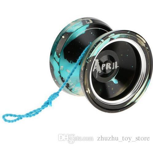 Бабочка металлический сплав YOYO KK подшипник профессиональный Yoyo мяч классические игрушки для детей лучший подарок для мальчиков магия YOYO M002