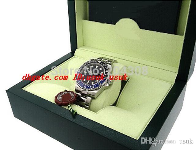 Luxus Armbanduhren 116710 40mm blau schwarz Keramik Lünette Edelstahl Armband Mechanische Automatische Uhren Herren Sport Original Box