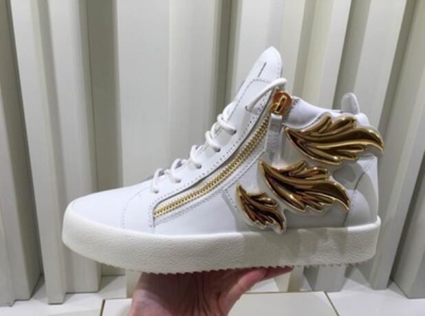 2017 новый мужская обувь сусальное золото кроссовки мужчины партия обуви черный кожаный кроссовки толстый каблук мужской зашнуровать повседневная обувь круглый носок