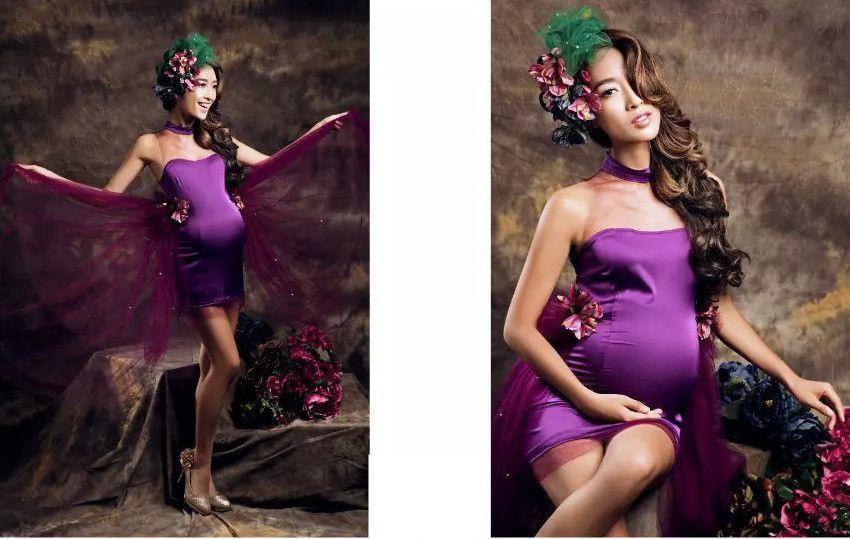 Материнство Фотографии Реквизит Лето Сексуальная Беременная Одежда Для Беременных Женщин Фотосессия Кружевное Платье
