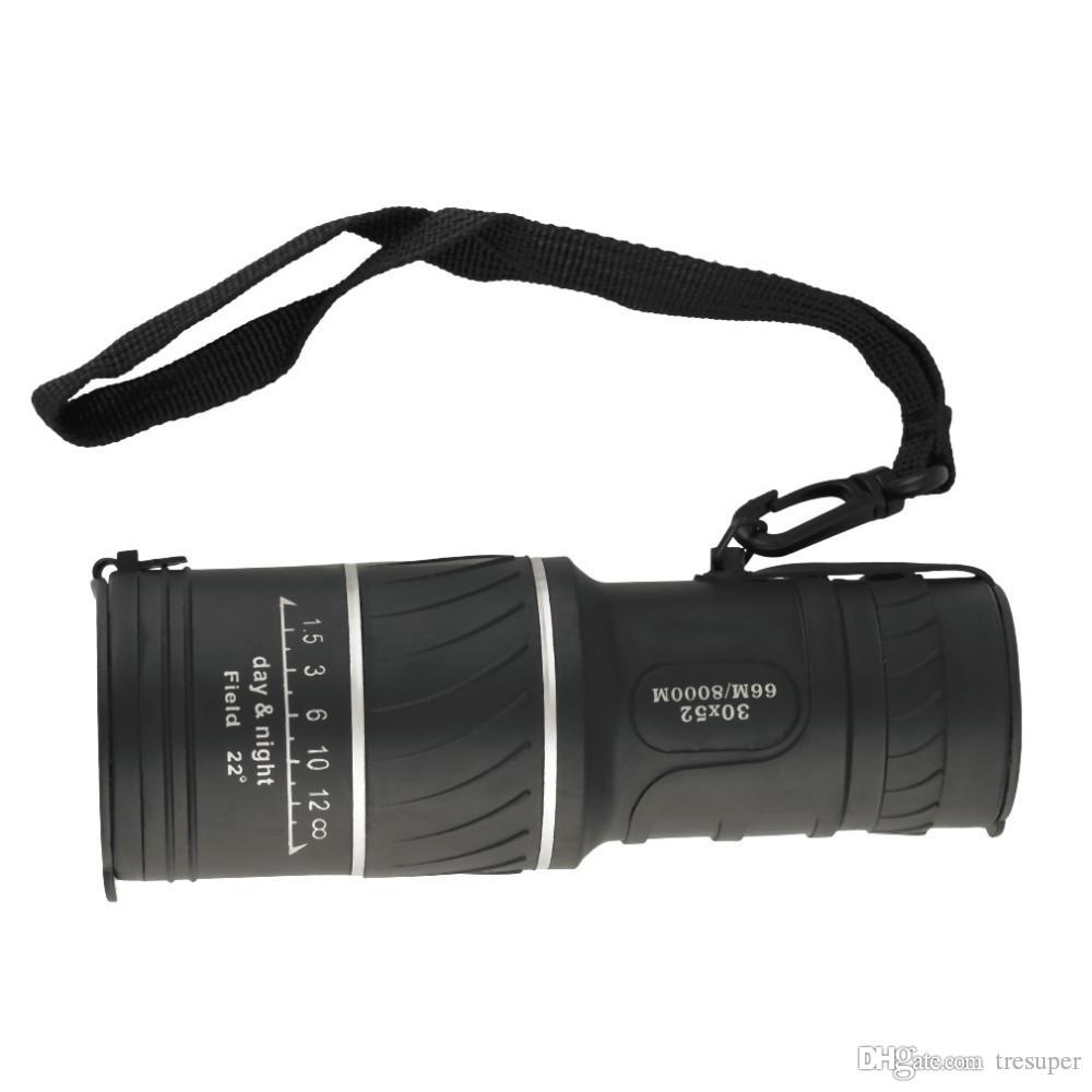30x52 Dual Focus-Zoom-Optik-Objektiv-Monokular-Teleskop-Fernglas-Multi-Beschichtungslinsen Dual Focus-Optik-Objektiv-Tag Nachtsicht.