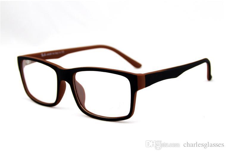 إطارات النظارات الكلاسيكية العلامة التجارية الأزياء البلاستيك إطارات النظارات البصرية النظارات إطار عادي للنظارات الطبية
