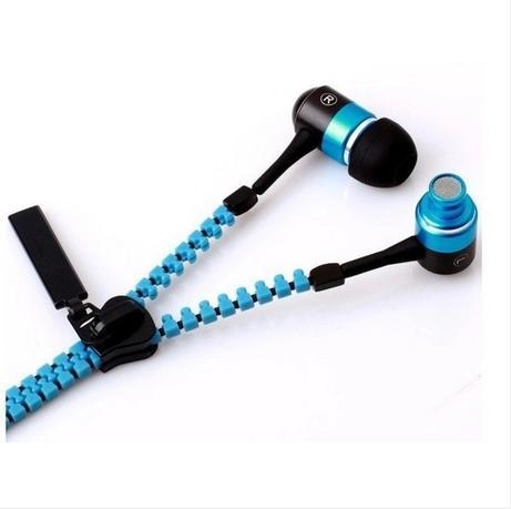Auriculares de 3,5 mm para auriculares de alta calidad con auriculares Jack de la cremallera de la cremallera Mic para Iphone Samsung teléfonos móviles MP3 MP4 100pcs