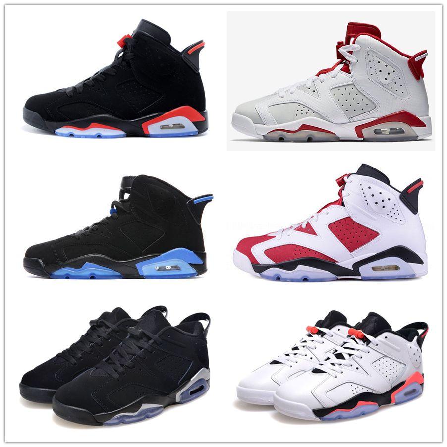 6 Carmine Basketball Shoes Classic 6s Unc Black Blue White Infrared Low Chrome Women Men Sport Blue Red Oreo Alternate Oreo Black Cat From Sexymichael 49 74 Dhgate Com