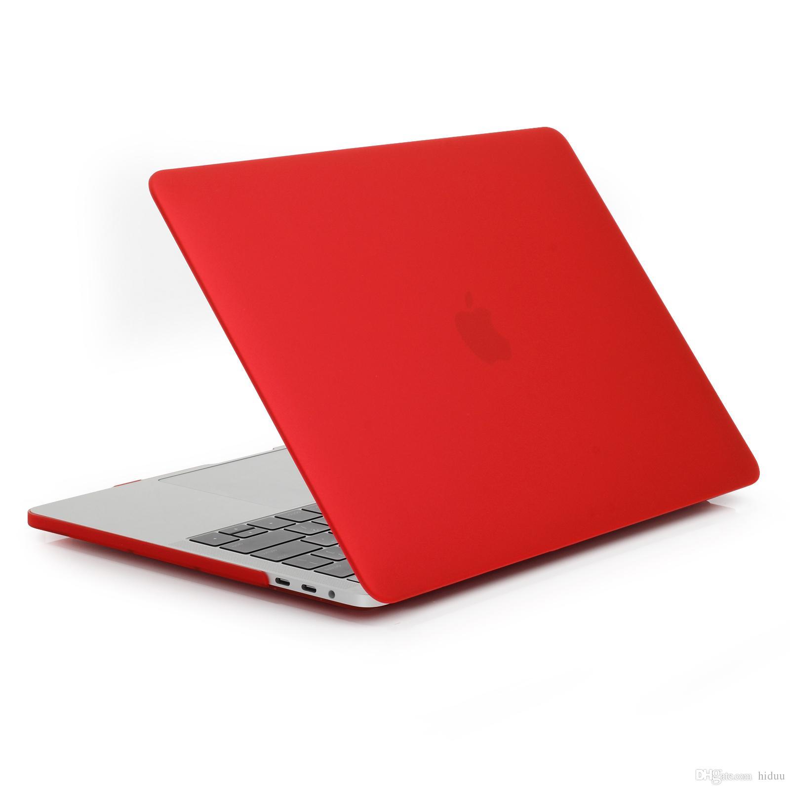 MacBook Pro 15 inç için Mat Kauçuk Kaplı Yumuşak Dokunmatik Plastik Hard Case (YENİ Sürüm - Sürüm Ekim 2016) Klavye kapağı ile A1707