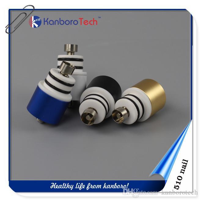 Kit de clou kanborotech 510 de conception électronique portable de cigarette électronique de narguilé avec la qualité hign personnalisée OEM OEM ..