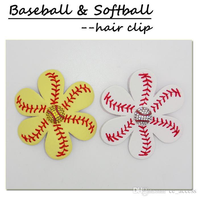 Barrette à cheveux Softball Girls