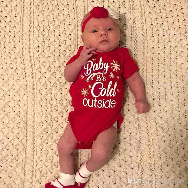 2018 Baby Girl Christmas Clothes Baby Boy Xmas Clothings Infant Boy