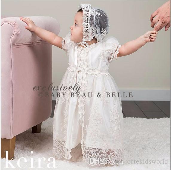 Compre Vestidos De Niña Bebé Bordado Perla 1 Año Vestido De Cumpleaños Fiesta De Bodas Bautizo Ropa De Bebé Niña De 3 24 Meses A 2613 Del
