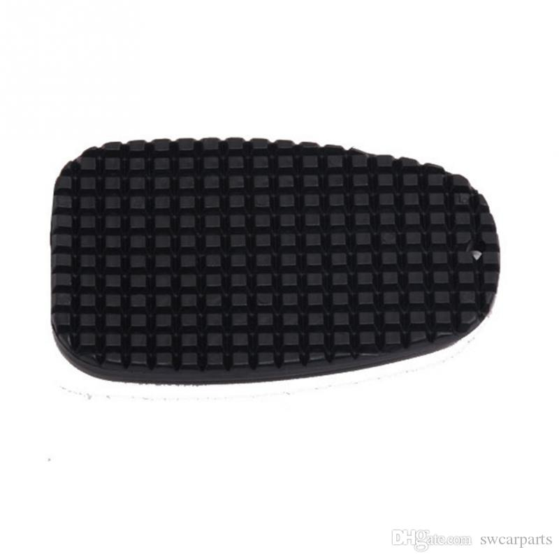 Universal Motorcycle Foot Support kickstand Side Stand Pad Plate Big Foot Mat