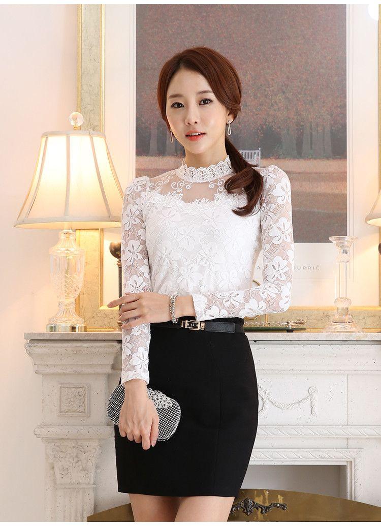 lace blouse 514