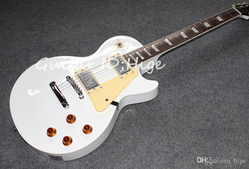nouvelle norme guitare guitare électrique avec 6 cordes de couleur blanche. HOT SALE guitare électrique chinoise, guitarra de haute qualité