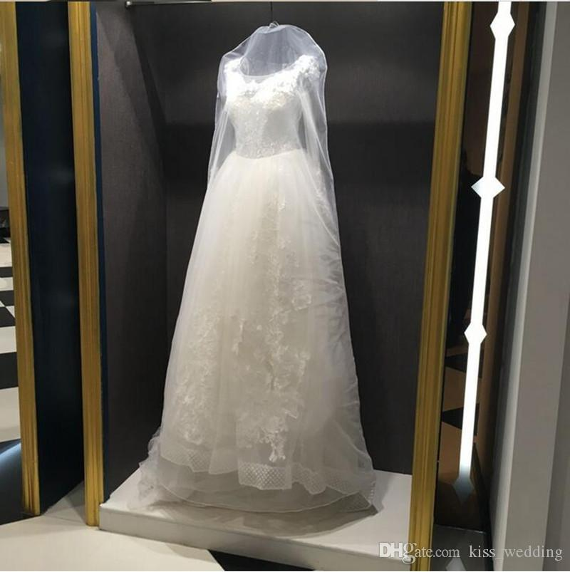 Cheap Price Wedding Dress Gown Bags Garment Cover Travel Storage