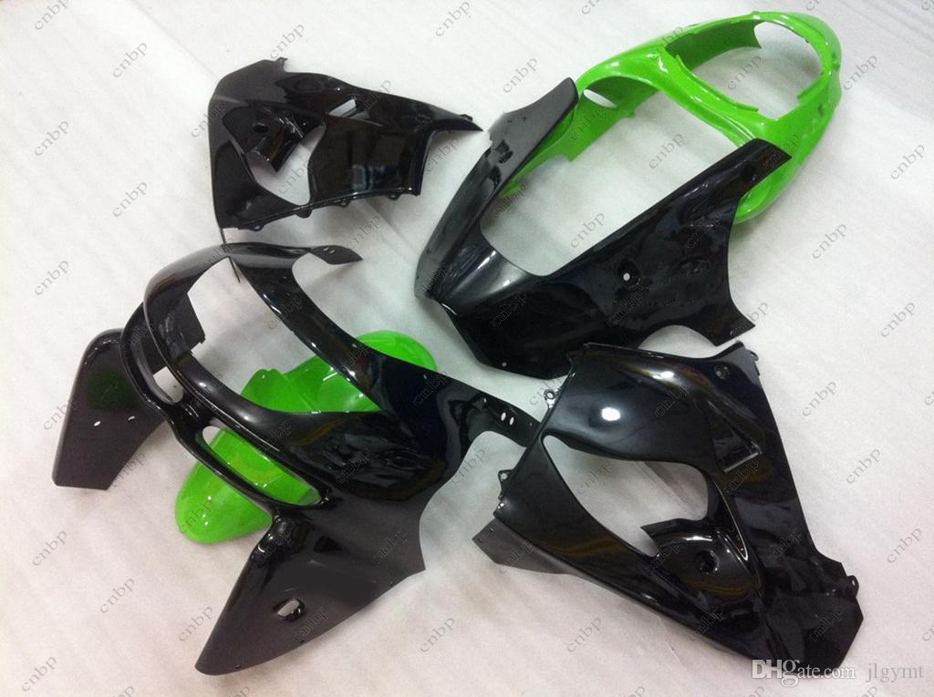 Fairing Kits Zx9r 98 Plastic Fairings Zx-9r 1999 Black Green Bodywork Zx 9r 1998 1998 - 1999
