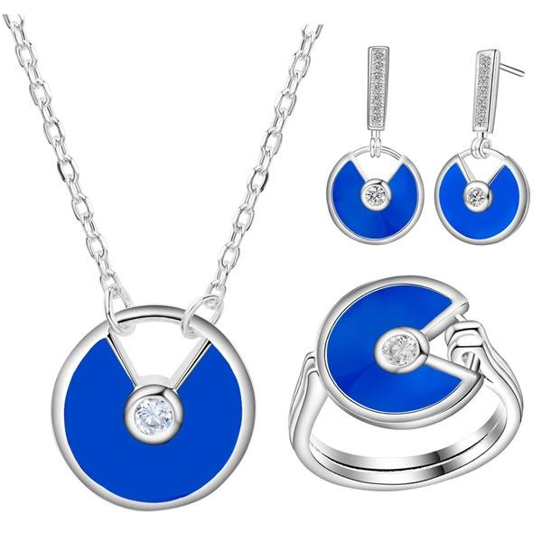 Mystic Zirconium gioielli in argento spessi di nuova moda e bella di bellissimi gioielli in turchese all'ingrosso