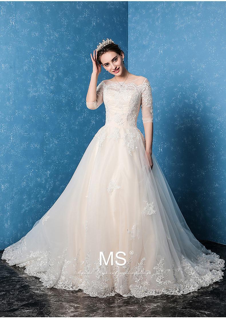 2017 New Bride Wedding Shoulder Word Size Slim Lace Flower Strap ...