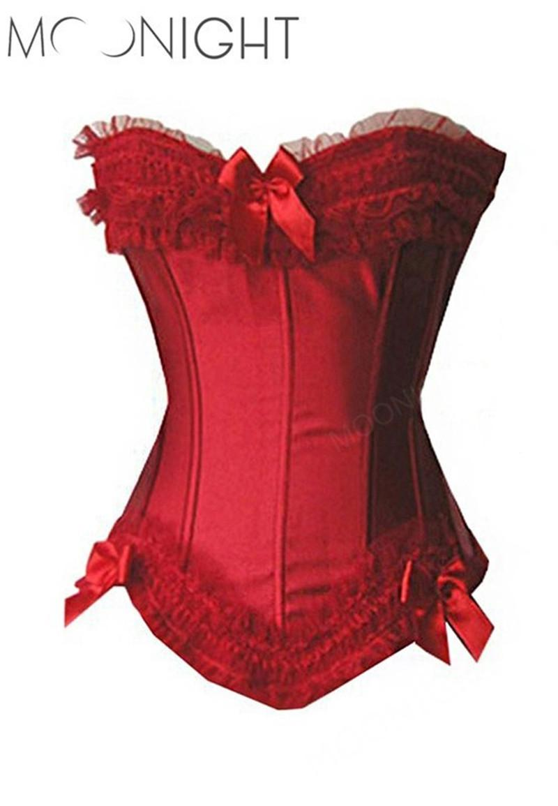 MOONIGHT Corsé nuevo y sexy Corsés y corpiños atractivos Corset Tops, Corselet Plus Size corset