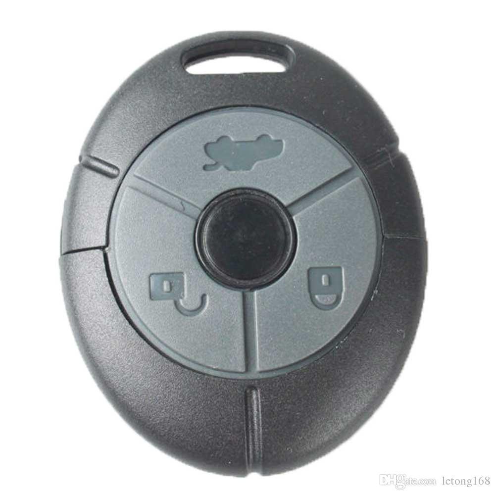 Garanti 100% 3 Boutons en caoutchouc bouton pad Remplacement À Distance Clé FOB Car case KEY SHELL Pour Convient MG Rover 25 35 ZT ZR ZS Livraison Gratuite